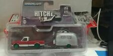 Greenlight Hitch & Tow Chase Greenie 68 Chevy truck & trailer carded!