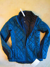 Lululemon Run Turn Around Down Jacket Alberta Lake Reversible Black 6