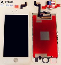 "USA iPhone 6s White 4.7"" LCD Display Touch Screen + TPU Hard Clear Phone Case"