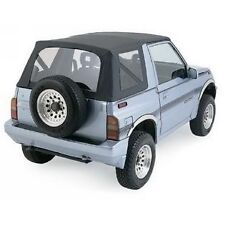 1988-1994 Suzuki Sidekick Geo Tracker Soft Top with Clear Windows Black Denim