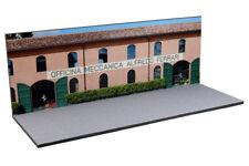 Diorama Officina Meccanica Alfredo Ferrari - 1/43ème - #43-2-AC-AC-003