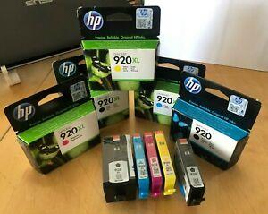 Genuine HP 920 XL - Black & Colour Ink Multipacks - SINGLES & SETS LOT (INC VAT)