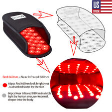 DGYAO LED Red Light Therapy Infrared Light Devices Slipper for Foot Pain Relief