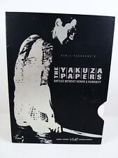 The Yakuza Papers: Battles Without Honor And Humanity (DVD, 2004, 6-Disc Set)