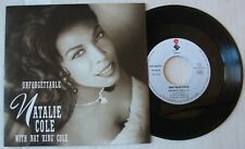 NATALIE COLE with NAT KING COLE  (SP 45T)  UNFORGETTABLE