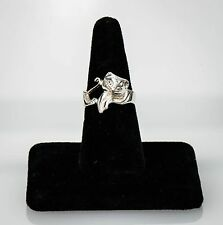 Sterling Silver Cat Ring Size 9