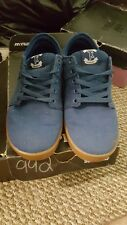 Supra shoes TK Blue Skate Sneakers Lowtop size 8 Mens us