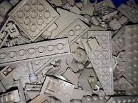 500 Gramm 0,5 Kg Lego Steine Altgrau Hellgrau Space System Star Wars Konvolut