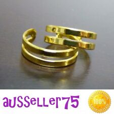Gold Toe Ring Pinky Ring Adjustable fashion accessory jewellery