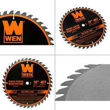 10 in. 40-tooth carbide-tipped professional woodworking saw blade for miter sa