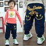 Kids Baby Boy Girls Harem Pants Toddler Hip Hop Trousers Bottoms Long Pants