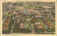 Tucson, ARIZONA - University of Arizona -  Birdseye - 1939