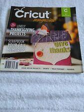 Cricut Magazine November 2011 Thanksgiving Projects Scrapbook Fall Memories