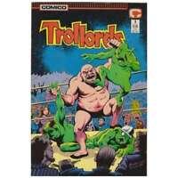 Trollords (1988 series) #3 in Near Mint minus condition. Comico comics [*nm]