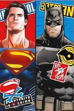 Batman V Superman 'clash' Fleece Blanket - 100 X 150cm