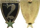 11° Régiment de Chasseurs d'Afrique, naja plat, 2 anneaux, Drago O.Mètra (F121)