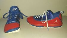 Sharp Red White Blue JORDAN Size 7Y Sneaker Shoes Lace Up