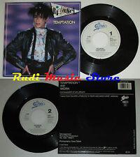 LP 45 7'' RICHENEL Temptation Work 1987 holland EPIC EPC 650759 7 cd mc dvd(*)