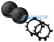 """PIONEER 6.5"""" 2 WAY CAR TRUCK STEREO FRONT DOOR SPEAKERS WITH MOUNTING BRACKETS"""