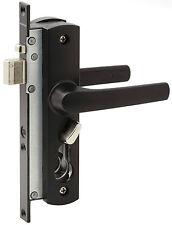 Whitco Tasman MK2 Security Screen Door Lock BLACK
