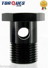 M18 x 1.5mm Aluminium Single Banjo Bolt 26mm Long Bosch 044 Inlet In Black