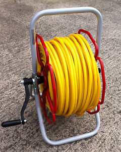 READY TO USE 8mm Microbore Minibore Reel Trolley With 100mtr hose and Coupling