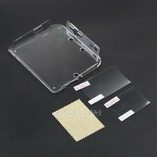 Transparent Clear Case Cover Shell For Nintendo 2DS Console + Film Protective