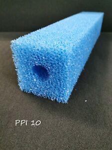 Filterpatrone ca. 100 x 100 x 500 mm Bohrung: 32mm Koi Teich Filterschaum Ersatz