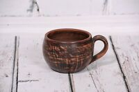 Handmade Clay Cup for Coffee Tea Ceramic Cup Pottery Handcrafted Cappuccino Mug