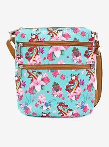 Disney ✗ Loungefly Mulan Floral Crossbody