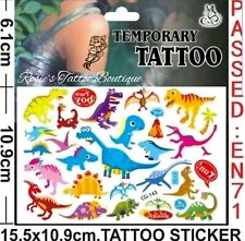 72 X SUPER EROE Tatuaggi Temporanei ragazzi Favore Festa Di Compleanno Borsa Filler