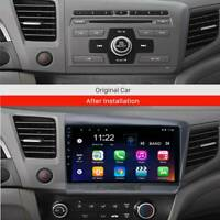 Android 10.0 Car Radio Multimedia auto Stereo GPS For Honda Civic 2012 -NOW