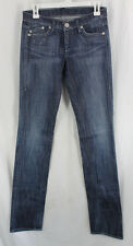 Rock Republic Jagger Jeans Denim Womens Size 0, 25 Straight Leg Low Rise Sample