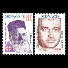 Monaco 2001 - 100th Anniversary of the Nobel Prize Science - Sc 2220/2 MNH