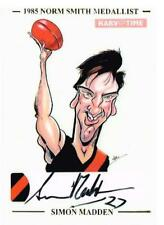 HARV TIME NORM SMITH MEDALLIST SKETCH CARD HAND SIGNED SIMON MADDEN LTD TO 85