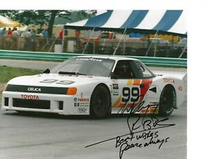 Autographed Willy T Ribbs IMSA Racing Photograph