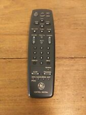 GE General Electric AS3-4 Remote Control TV Television VCR Video Accessories