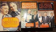 3 Comeplete Yes Minister BBC Books Jonathan Lynn Anthony Jay