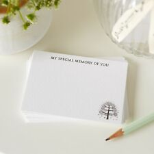 25 'My Special Memory of You' Funeral Remembrance Cards - by Angel & Dove