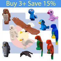 *NEW* Lego BIRDS Animal PICK Parts Bulk Bird Eagle Parrot Crow Gull Owl Hedwig