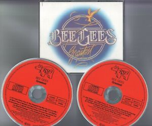 Bee Gees  2  CD's  GREATEST   ©  1979   RED FACE   / FAT BOX