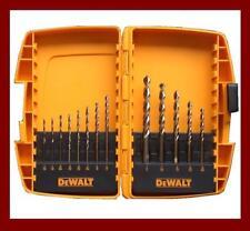 Dewalt DW1953 13 Piece Gold Ferrous Drill Bit Set & Case AU Seller Tax Invoice