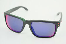 READ! Oakley Holbrook Matte Black/Positive +Red Iridium OO9102-36