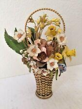 Collectibles, Metal Ware,Sculpter,Figurines, Spring Boquet,Gloria Vanderbilt,USA