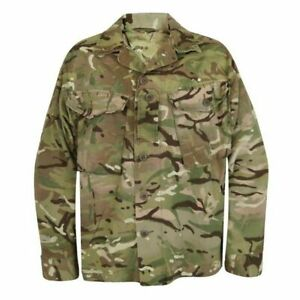 British Army MTP Multicam Barrack Dress Shirt Military Cadets Combat Jacket UK
