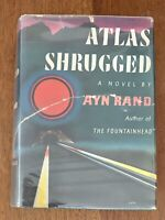 ATLAS SHRUGGED (1957) AYN RAND, FIRST EDITION, 5TH PRINTING IN DJ