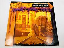"New ListingPeanut Butter Wolf - Run The Line / Original 1997 pressing 12"" vinyl Lp hip hop"