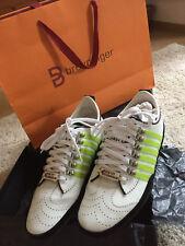 100% Orig. Dsquared Sneaker Gr 43 NEW! NP420€ high quallity SS2018 neon leder