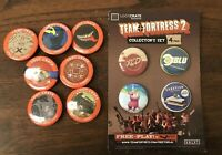 Lot of 11 LOOT CRATE PINS Team Fortress 2 and 2015 Fantasy, Heroes 2 & More Pins