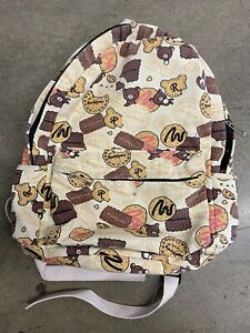Rilakkuma Cookies & Chocolate Biscuits Backpack Free Fast Shipping